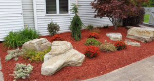 red mulch product